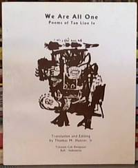 image of We Are All One; Poems of Tan Lioe Le