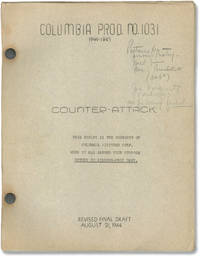 image of Counter-Attack (Original screenplay for the 1944 film, actress Marguerite Chapman's copy)