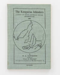 The Kangaroo Islanders. A Story of South Australia before Colonization, 1823
