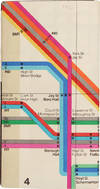 View Image 5 of 9 for 1972 New York City Subway Maps Inventory #26131