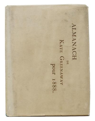ALMANACH De KATE GREENAWAY Pour 1888