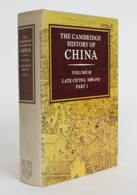 image of The Cambridge History of China, Volume 10: Late Ch'ing 1800-1911