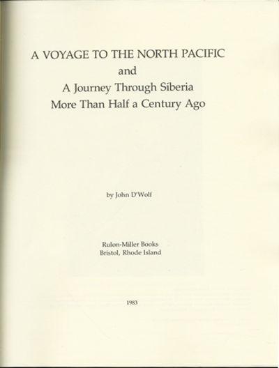 Bristol, RI: Rulon-Miller Books, 1983. First edition thus. Quarter blue cloth over pale blue paper-c...