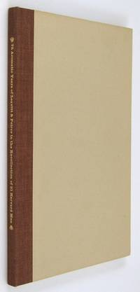 Cambridge: Leavitt & Peirce. 1958. The hardcover issue of this very early appearance in print by Upd...