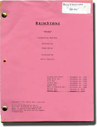 image of Brimstone: Faces (Original screenplay for the 1999 television series)