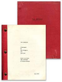 THE DEFENCE: A Screenplay ... Based on the novel by Vladimir Nabokov