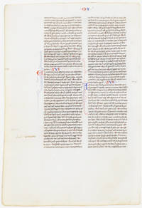 Thirteenth Century Leaf: The Feeding of Thousands, Walking on Water, The Tradition of the Elders, The First Prediction of the Passion, The Transfiguration (among others)