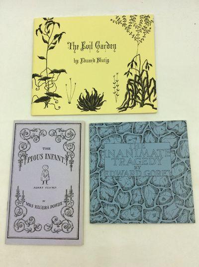 New York: The Fantod Press, 1966. 1st Edition. Paperback. Fantod Press Edward Gorey set #1 published...