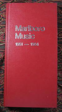 Marlboro Music: Programs 1951-1984