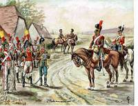 Soldats et Uniforms du Premier Empire.  (78 Plates).
