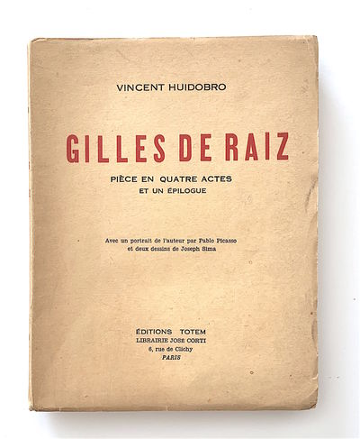 Gilles de Raiz. Pièce en Quatre...