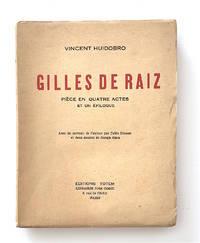 Gilles de Raiz. Pièce en Quatre Actes et un Épilogue