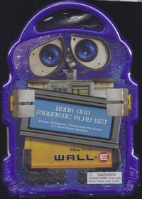 WALL-E A Book and Magnetic Play Set