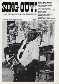 SING OUT! THE FOLK SONG MAGAZINE,  Volume 22, Number 4,  July/August 1973  [with recording]