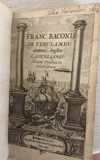 Franc Baconis De Verulamio Summi Angliae Cancellarii Novum Organum Scientiarum