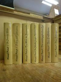 Auf der Suche nach der verlorenen Zeit, 7 Bände (= alles) + Briefe zum Werk, insg. 8 Bände,