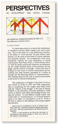 On Critical Consciousness in the U.S.: the Relevance of Paulo Freire