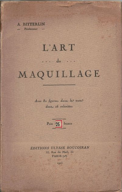 Paris: Editions Ulusse Boucoiran, 1925. First edition. Original Wraps. Orig. striated buff wrappers....