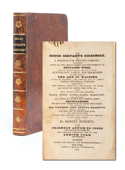 The House Servant's Directory; Or, a...