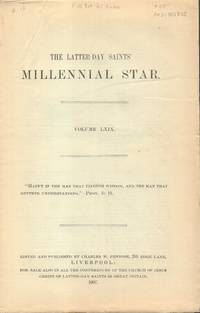 Latter-Day Saints' Millennial Star Volume LXIX
