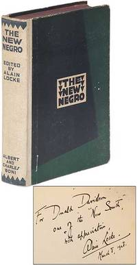 collectible copy of The New Negro