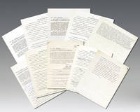 Ray Bradbury, Norman Mailer, Shirley Jackson, and Rod Serling Autograph Questionnaires.