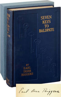 Seven Keys to Baldpate (Signed First Edition) by  Earl Derr Biggers - Signed First Edition - 1913 - from Royal Books, Inc. and Biblio.com