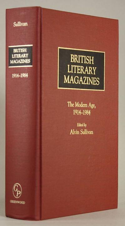 Westport, Connecticut, London, England: Greenwood Press, 1986. Octavo, pp. viii-xii xiv-xxvi 4-560 ,...