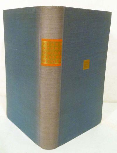 Munich: Gustav Kiepenheuer Verlag, 1931. First edition. Hardcover. Orig. blue cloth, gold spine labe...