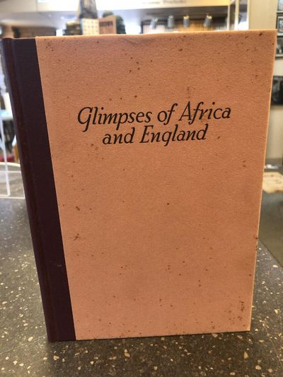 Privately Published by The Author, 1937. First Edition. Hardcover. Octavo, 198 pages; VG/VG; quarter...