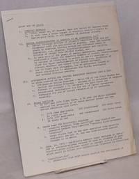 image of Short Rap on Bakke [with] Provisional fact sheet for Bakke work