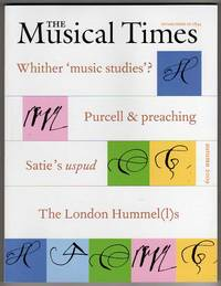The Musical Times, Autumn 2009 - Vol. 150 No. 1908