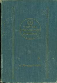 image of Webster's New Collegiate Dictionary A Merriam-Webster