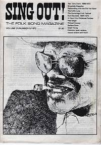 """""""SING OUT! THE FOLK SONG MAGAZINE"""",  Volume 21, Number 5,  Sept/Oct 1972"""