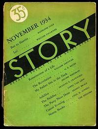 New York: Story, 1934. Softcover. Good. Vol. V, no. 28. Good plus, with the pages age-toned and sepa...