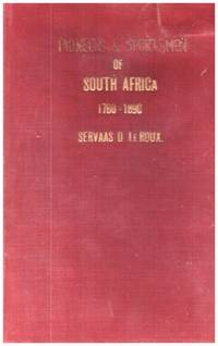 image of PIONEERS AND SPORTSMEN of SOUTH AFRICA 1760 -1890