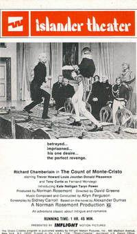 The Count of Monte-Cristo (flyer)