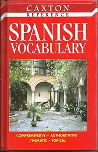 Spanish Vocab (Caxton Reference)