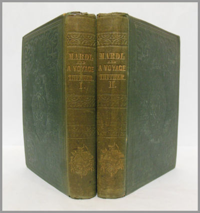 New York: Harper & Bros., 1849. Two volumes. Green cloth, stamped in blind and gilt, yellow endsheet...