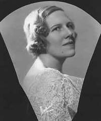 image of Portrait of unidentified blonde woman.