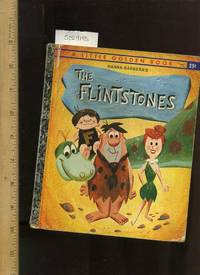 The Flintstones : Hanna Barbera's a Little Golden Book No. 450 1961 Edition Foil Spine...