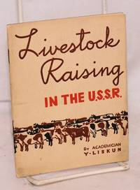 Livestock raising in the U.S.S.R.