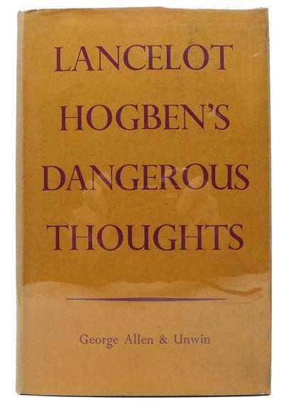 London: George Allen & Unwin Ltd, 1939. 1st edition. Purple cloth binding. Yellow dust jacket. VG+ (...