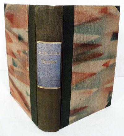 Munich: Kurt Wolff Verlag, 1924. First editions. Hardcover. Orig. green cloth spine, Art Deco decora...