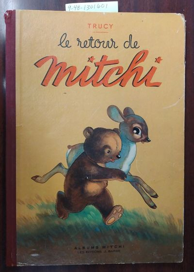 Paris, France: Les Éditions J. Barbe, 1948. First Edition. Hardcover. Folio picture book, 31 pages,...