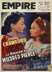 Mildred Pierce. Original Poster for the film