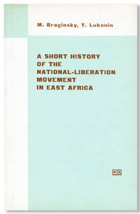 A Short History of the National-Liberation Movement in East Africa