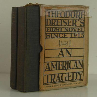 Boni and Liveright, New York, 1926. 5th or later Edition. Hardcover. Near Fine. Near fine 2 volume s...
