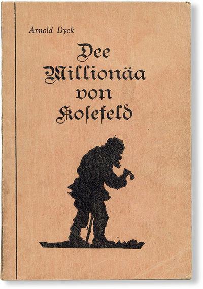 Steinbach, Manitoba: Selbstverlag des Verfassers, n.d., ca. 1940s. First Edition. 12mo (ca. 18cm.); ...
