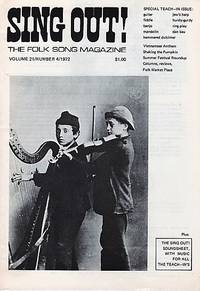 """""""SING OUT! THE FOLK SONG MAGAZINE"""",  Volume 21, Number 4,  May/June 1972  [with recording]"""